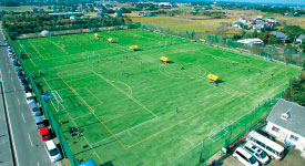 千葉の少年サッカー合宿